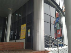 центральный вход в ТРК